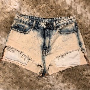 NWOT BDG Urban Outfitters Distressed Denim Shorts